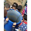 water butt- recycling rain water