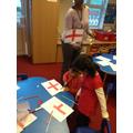 England flag making
