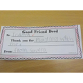 Could you do a Good Friend Deed?