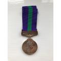 Gunner Ron Everitt's medal