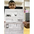 Shravan has completed his SPaG activity.