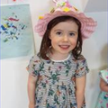 Making beautiful Easter bonnets!