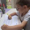 Asher developing fine motor skills!