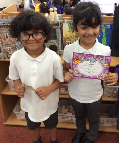 Well done to our stars of the week for week 1!