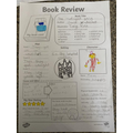 Grace wrote a book review for 'The Midnight Gang'.