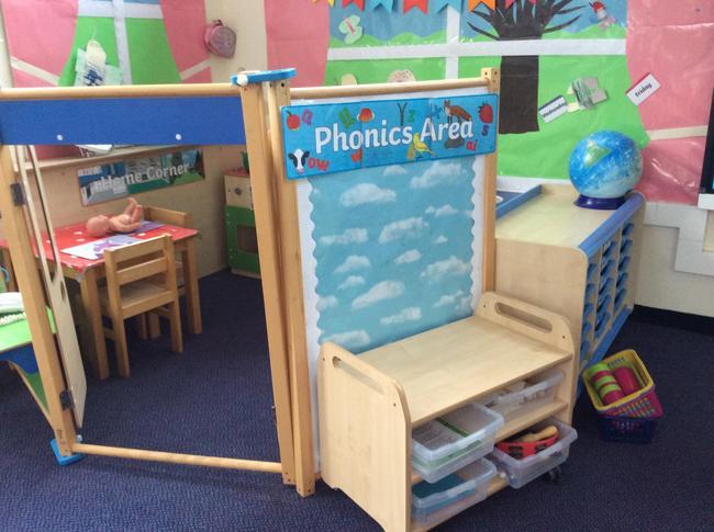 Phonics Area Elm Class