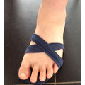 Tommy made a Roman sandal.