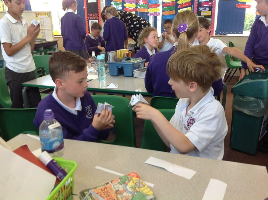 DT: using chatterboxes to practise basic greetings