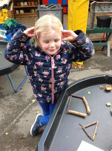 How many shapes can you make with sticks?