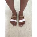 Hayden made a Roman sandal.