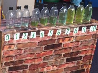 Ten Green bottles Maths Area Ash