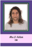 Mrs Asllam LSA