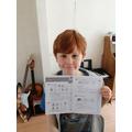 William has enjoyed his White Rose challenge.