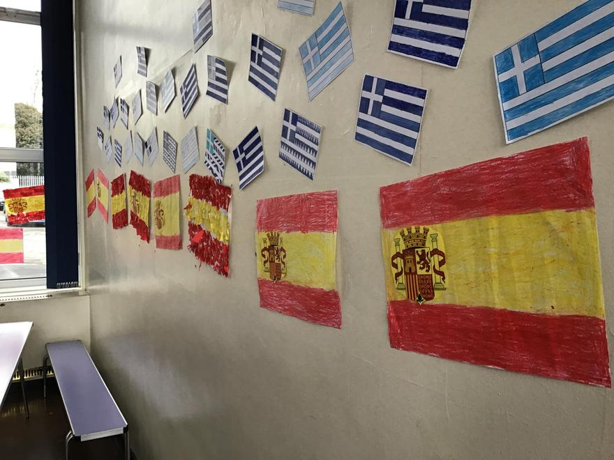 International Week; Spain and Iceland have a party