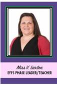 Miss Laxton Elm Class Teacher