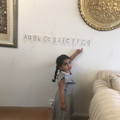 Rosa learning her phonemes!