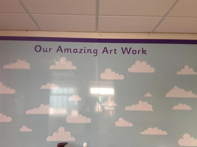 Board ready for more of your amazing Art work!