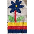 Javieer made a mosaic.
