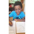 Joshua has found the nouns and pronouns.