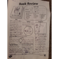 Sophie has done a book review for 'Rat Burger'.