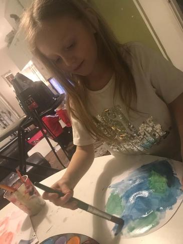 Painting Planet Earth!