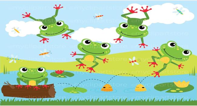 Can you sing Five Little Speckled Frogs?