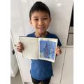 Van Gogh inspired artwork.
