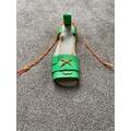 Caitlyn made a Roman sandal.