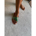 Zac made a Roman sandal.