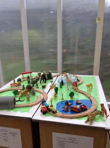 Brio Train Track and Farm Elm Class
