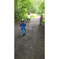 Mariam enjoyed a bike ride with her family.