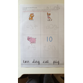 Using phonic skills to read and write simple words