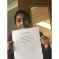 Jaya wrote a poem about the She-wolf.