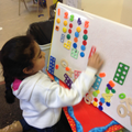 Ordering numbers with magnets to match their value