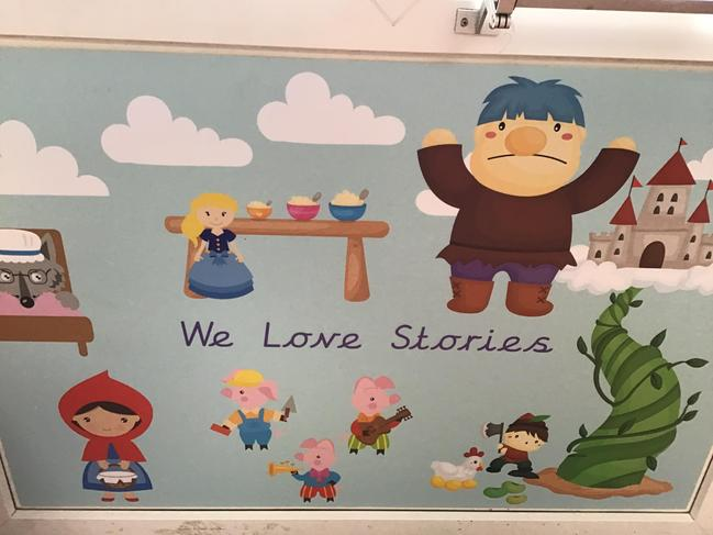 Story Area Display
