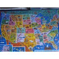 McKenzie completed a jigsaw of the USA.