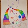 Violet's bear!