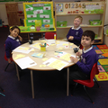 Working well together!