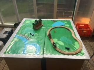 Duplo Train Track - Elm
