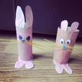 Hattie and Claudia's bunnies.