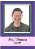 Mrs Thompson Ash Class Teacher