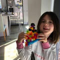 Leah's triangle monster!