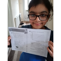 Anika has learnt about line graphs.