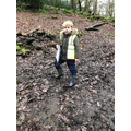 Enjoying the mud