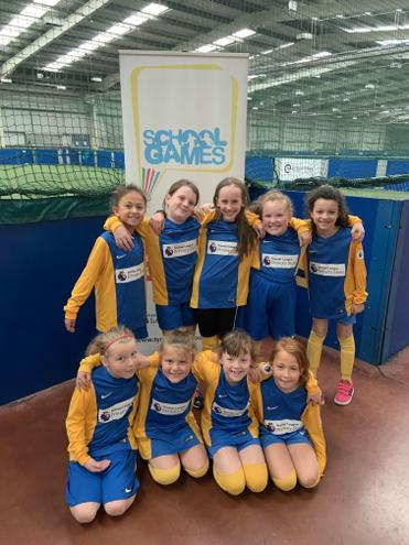 Year 3/4 North Tyneside Football competition