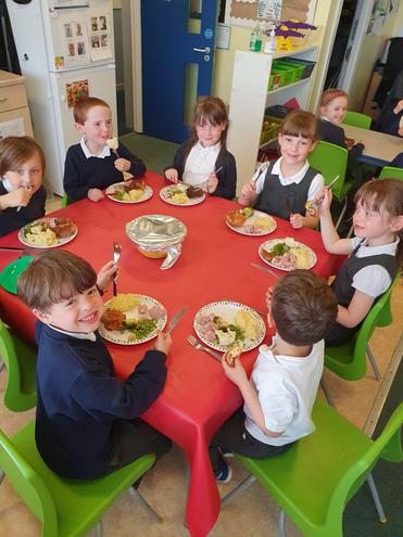 Healthy meals at Little Angels!