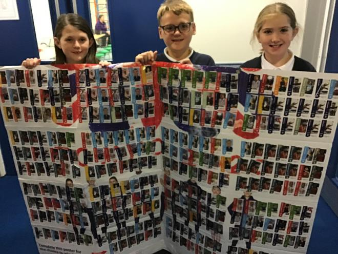 Aldi's Kit for School completed poster