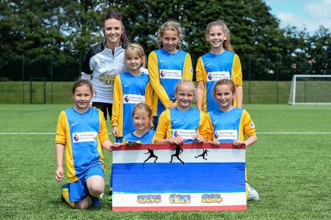 NUFC Girls World Cup Trophy
