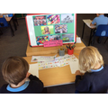 Writing about our favourite toys.