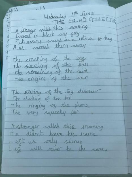 Y2 Poetry